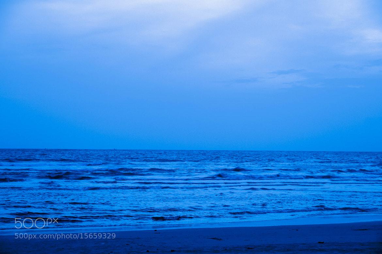 Photograph Blue Sea by Sudeep Devkota on 500px