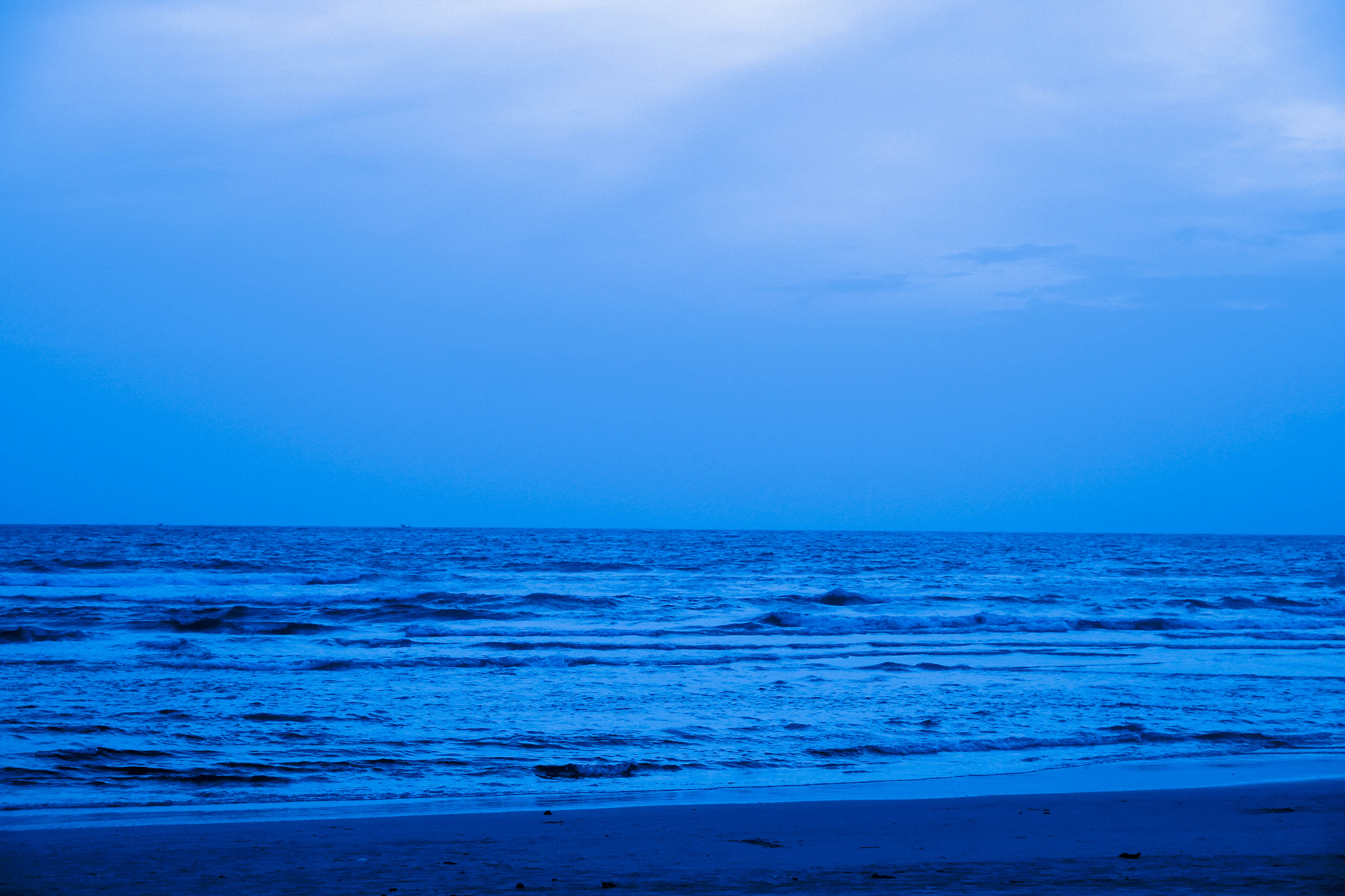 Photograph Blue Sea by Sudeep Devkota on 500px