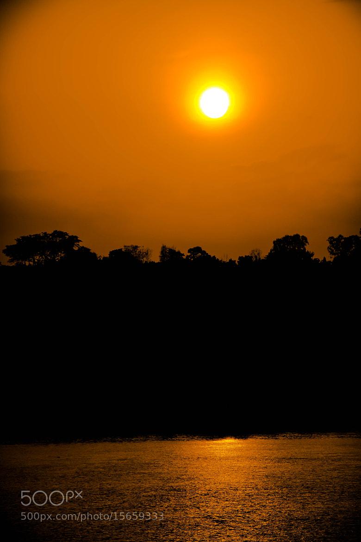 Photograph Golden Sunset by Sudeep Devkota on 500px