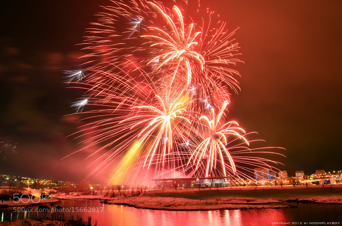 Photograph Iceland Fireworks 2012 by noomplayboy  on 500px