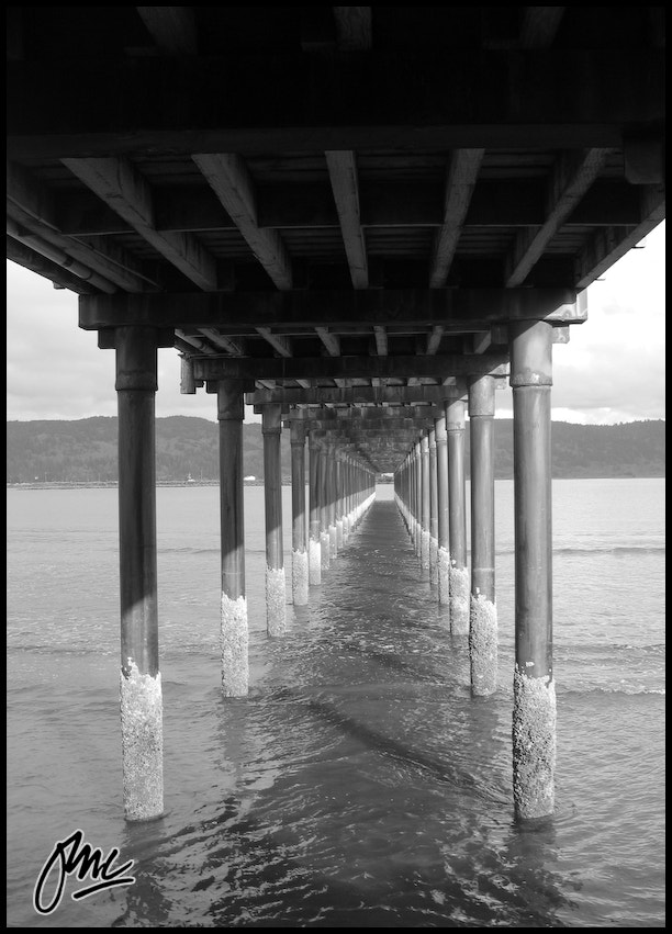 Photograph Under The Pier by ESB Media on 500px
