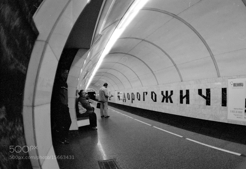 Photograph Dorogozhichi — Kyiv subway station by Roman Sotnikov on 500px