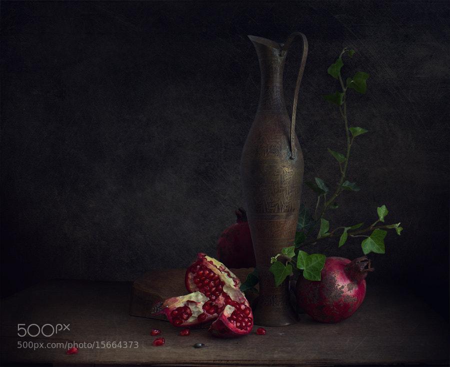 Photograph Pomegranate seeds by Viktoria Imanova on 500px