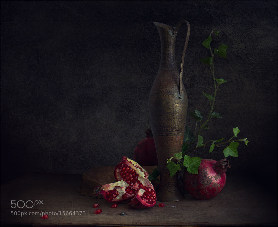 Photograph Pomegranate seeds by Viktoria Imanova on 500px