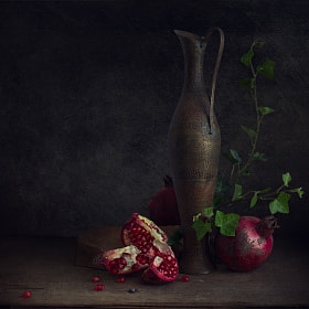 Pomegranate seeds by Viktoria Imanova (ViktoriaImanova)) on 500px.com