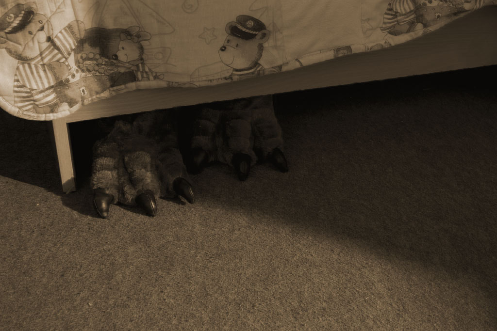 Photograph The Monster Under My Bed by NeoSky  on 500px