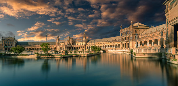 Plaza de España at Sunset by Klassy Goldberg on 500px