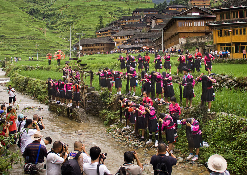 Photograph Shampooing Festival of Miao women - China by TUAN VAN on 500px