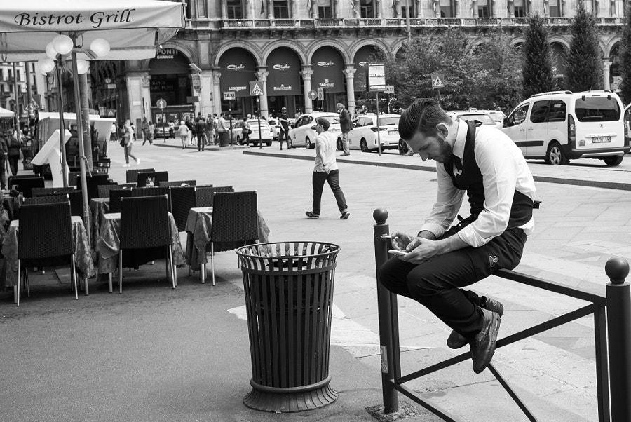 The waiter break by Giorgio Morrone on 500px.com