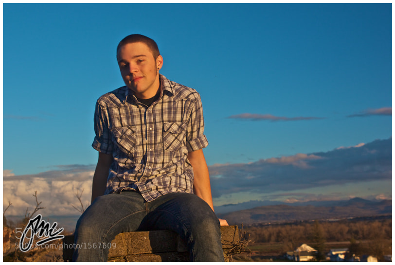Photograph Dillion : Senior Portrait #5 by ESB Media on 500px