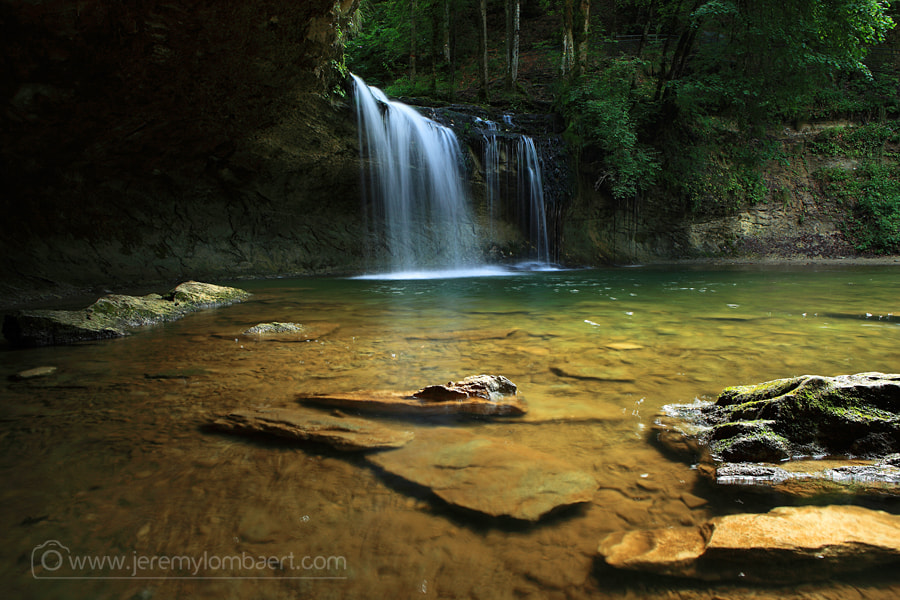 Photograph Waterfall by Jérémy Lombaert on 500px