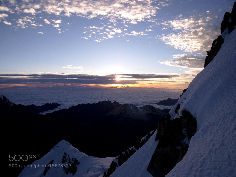Photograph 6000m sunset by Mathieu Maisonneuve on 500px