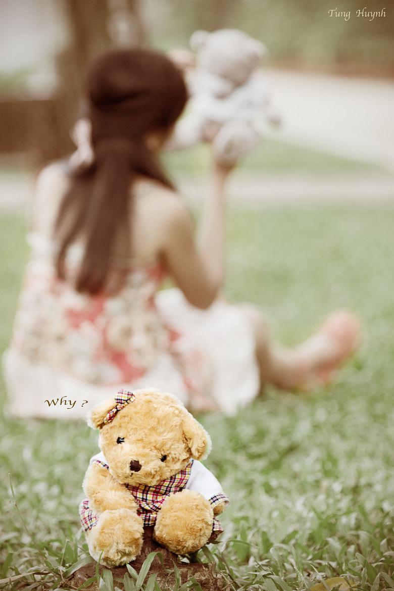 Photograph Oh Teddy by Tung Huynh on 500px