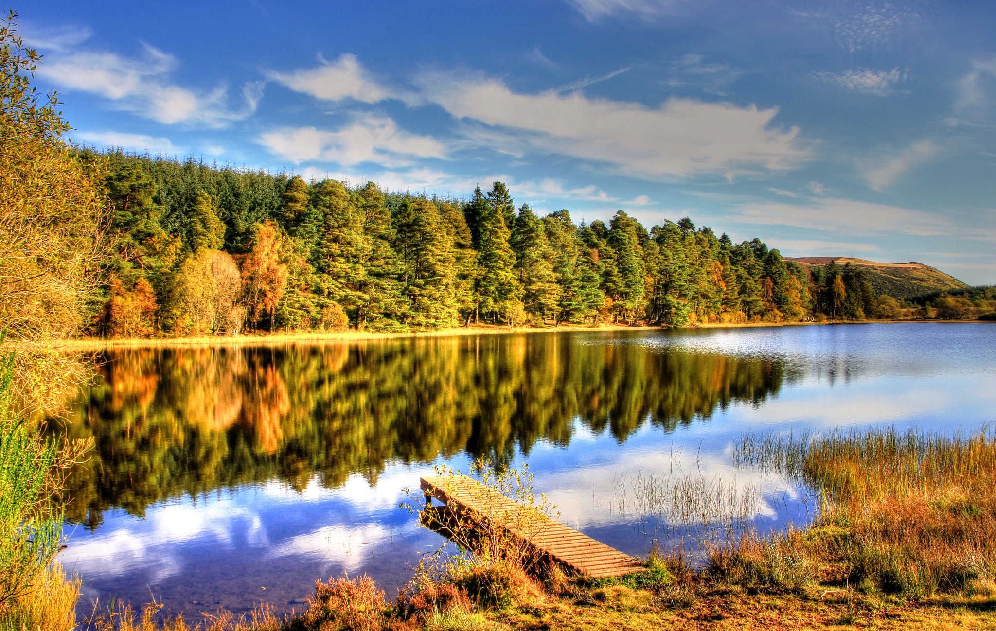 Photograph Lairds Loch In Autumn 2 by Hilda Murray on 500px