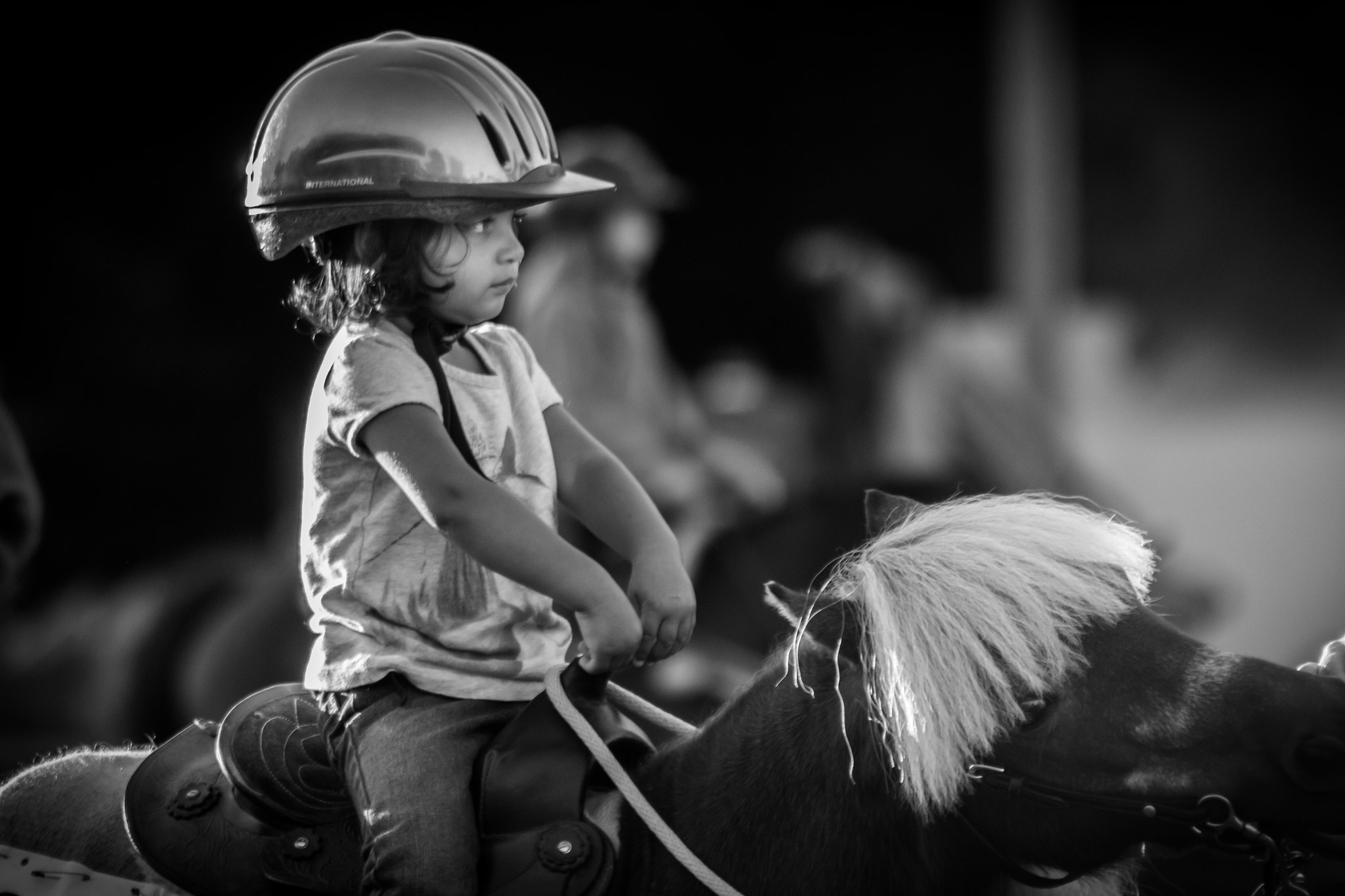 Photograph Little Girl On A Little Horse by Steve M DiPolito Imaging on 500px