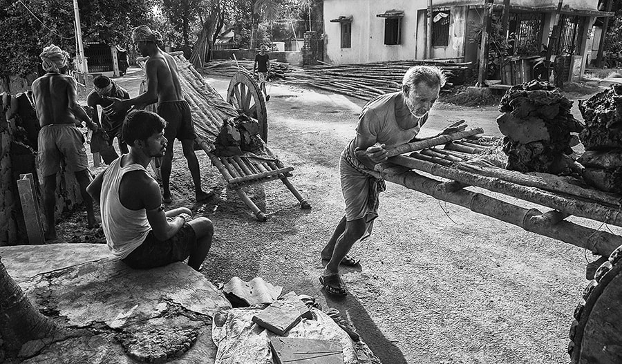Photograph Cart-puller by Saumalya Ghosh on 500px