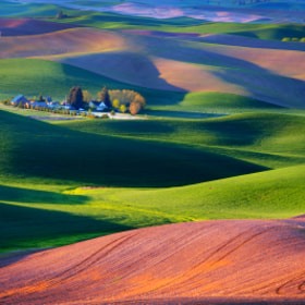 Palouse Sunrise by Jerry Patterson (JTPatterson)) on 500px.com