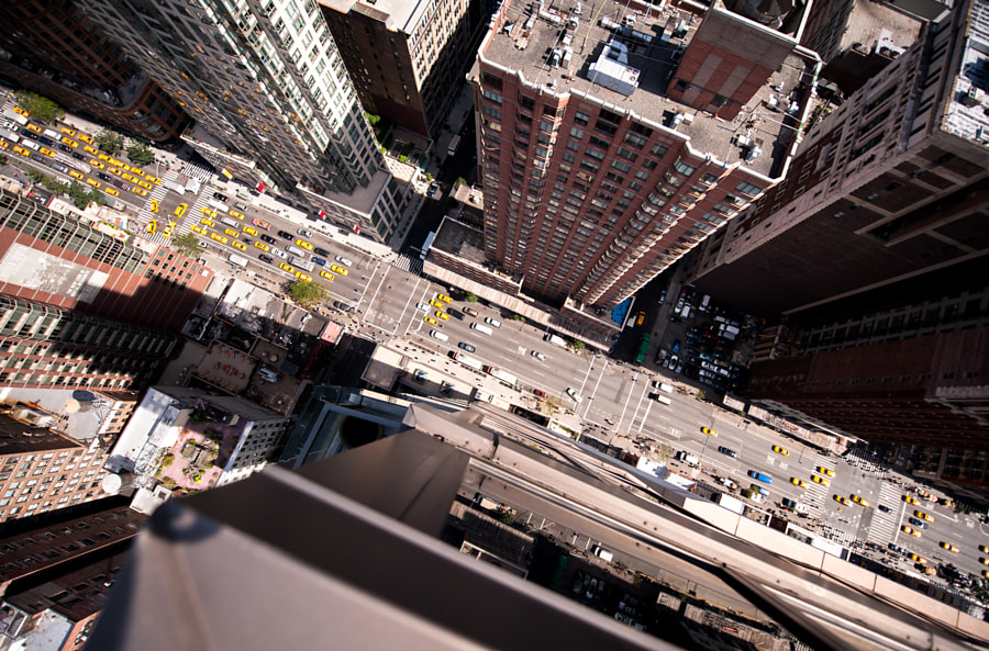 Intersection | NYC by Navid Baraty on 500px.com