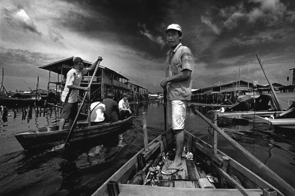Photograph Sampan Man by OPERAHIDUP PHOTOGRAPHY on 500px