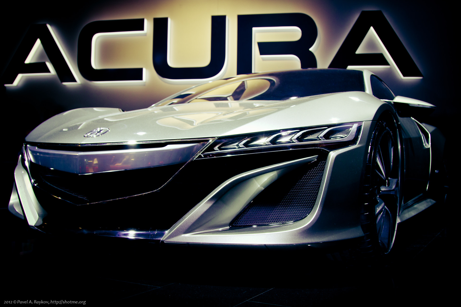Photograph Acura NSX Concept 2012 by Pavel Raykov on 500px