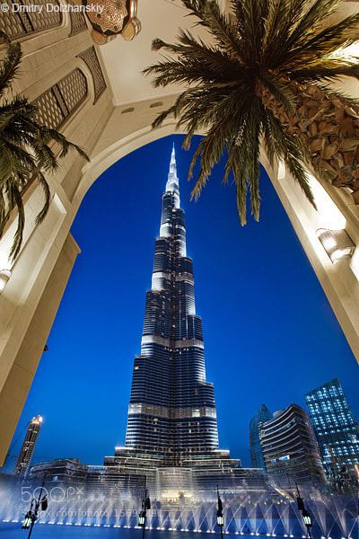 Photograph Burj Khalifa by Dmitry Dolzhanskiy on 500px