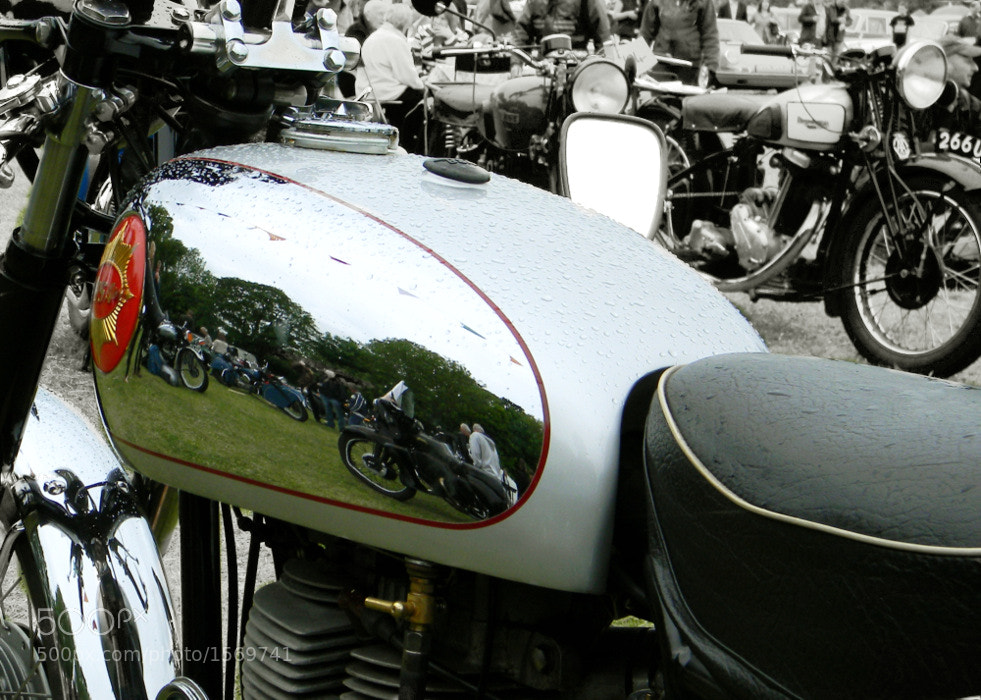 Photograph reflections of a BSA by Debb Rooken-Smith on 500px