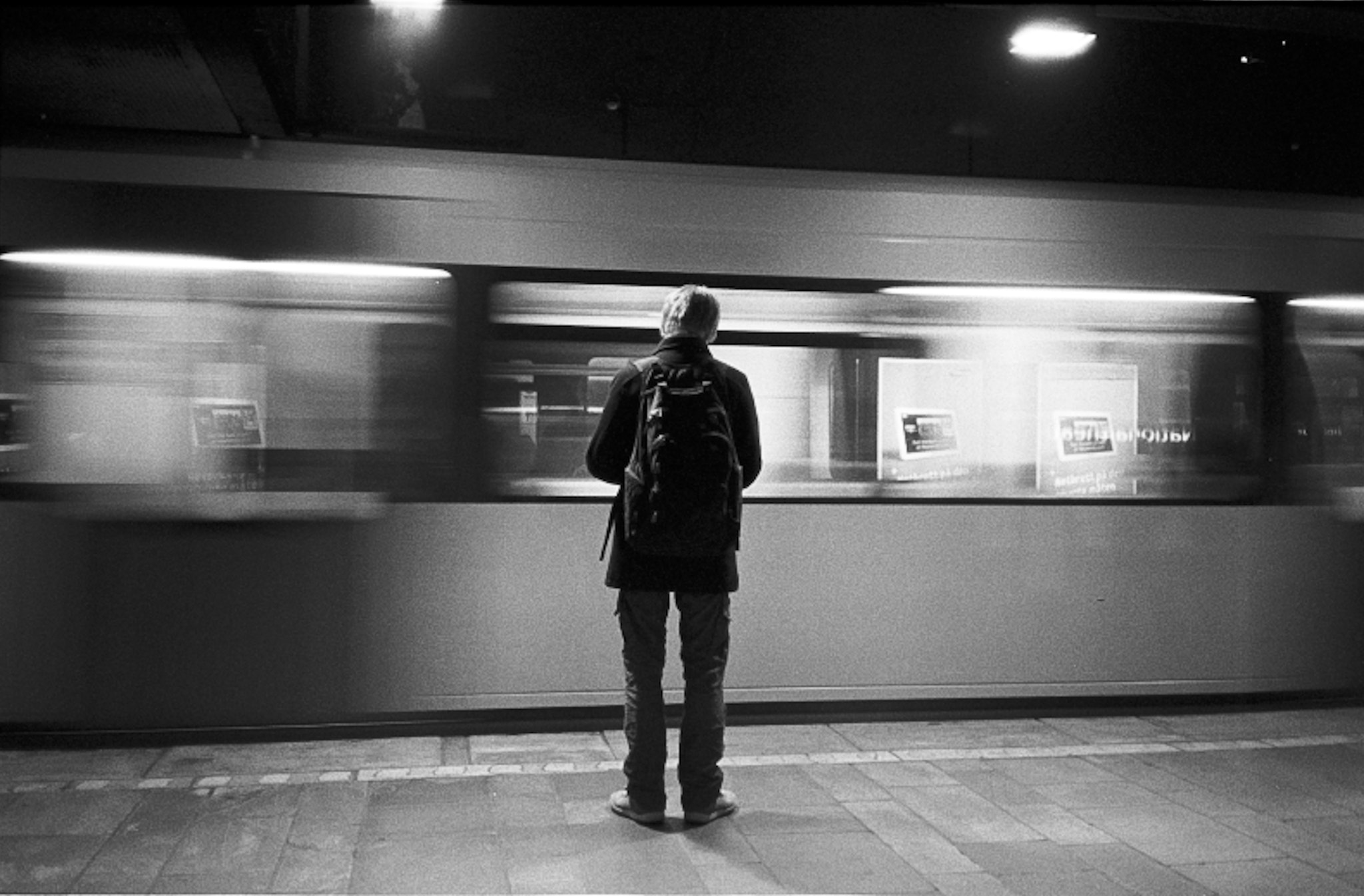 Photograph Oslo subway by Patrice Viale on 500px
