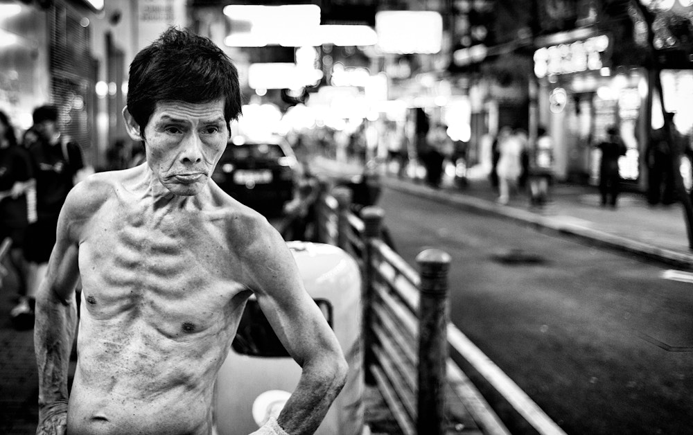 Photograph Kowloon Drug addict by F8 Photography on 500px