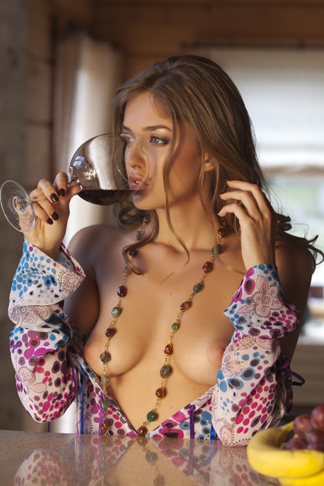 Photograph The girl with a wine glass-2 by Vladimir Dedal Larionov on 500px