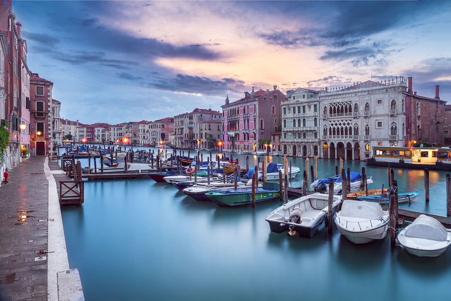 Venice Grand Canal by Valentin Alexandru on 500px.com