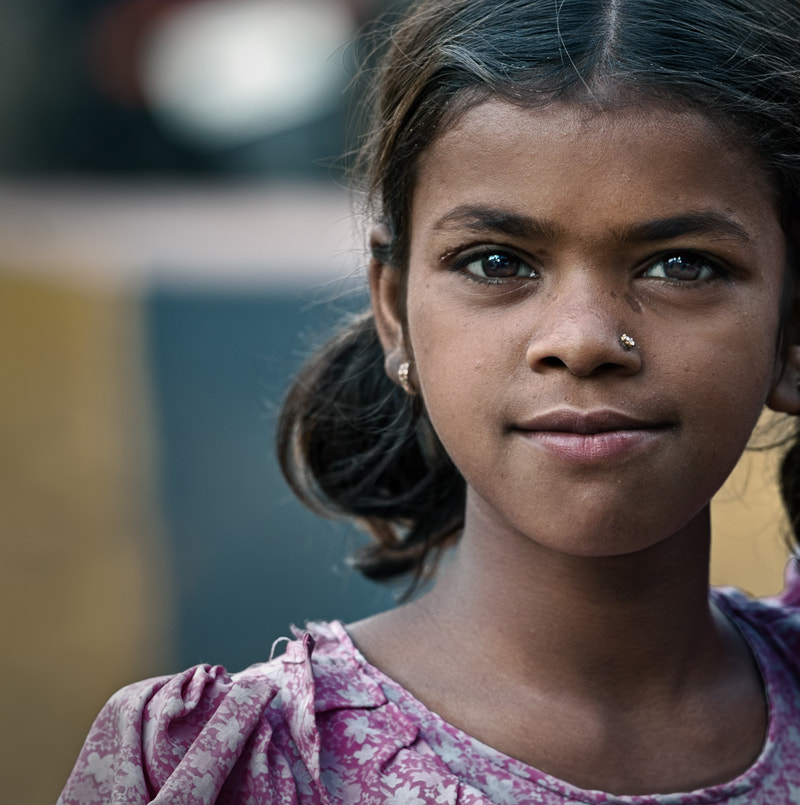 Photograph young Indian girl by piet flour on 500px