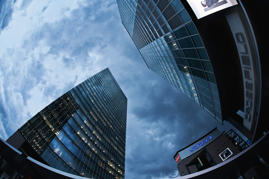 Photograph Looking up with a fisheye lens by Loic Labranche on 500px