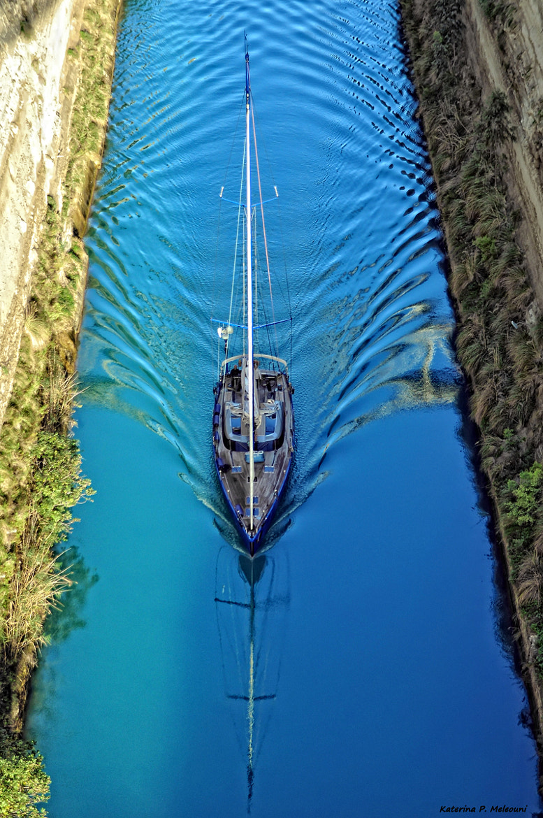 Photograph One Minute Later... Corinth Canal, Greece by Katerina  Meleouni on 500px