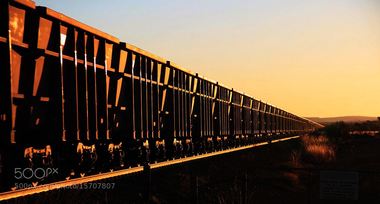 Photograph Pilbara Iron train, Western Australia by Basile  Weber on 500px