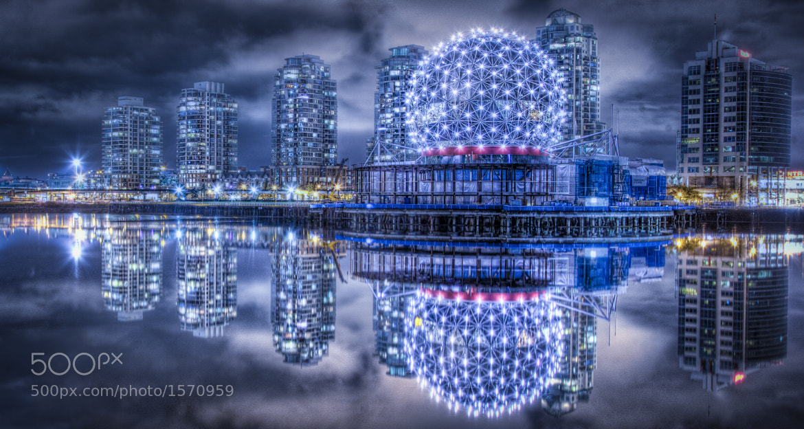Photograph Vancouver BC: Science World HDR by Robert Arrington on 500px