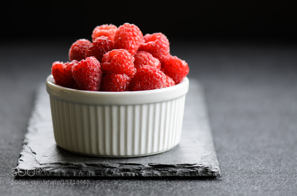 Photograph Red Raspberries by Julie Rideout on 500px