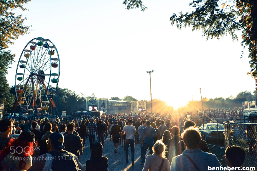 Freefest Crowd by Ben Hebert (BenHebert) on 500px.com