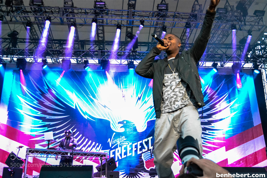Nas @ Freefest by Ben Hebert (BenHebert) on 500px.com