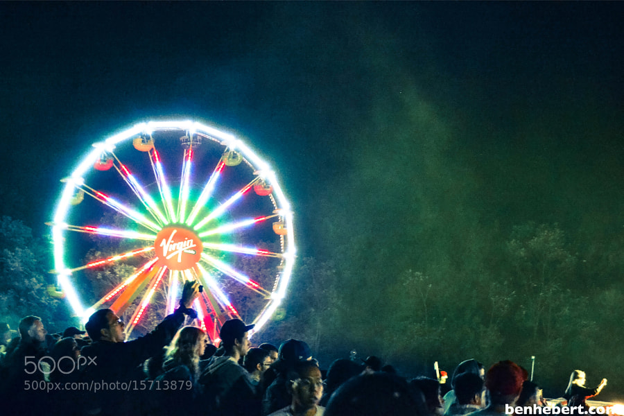 Virgin Mobile Ferris Wheel by Ben Hebert (BenHebert) on 500px.com