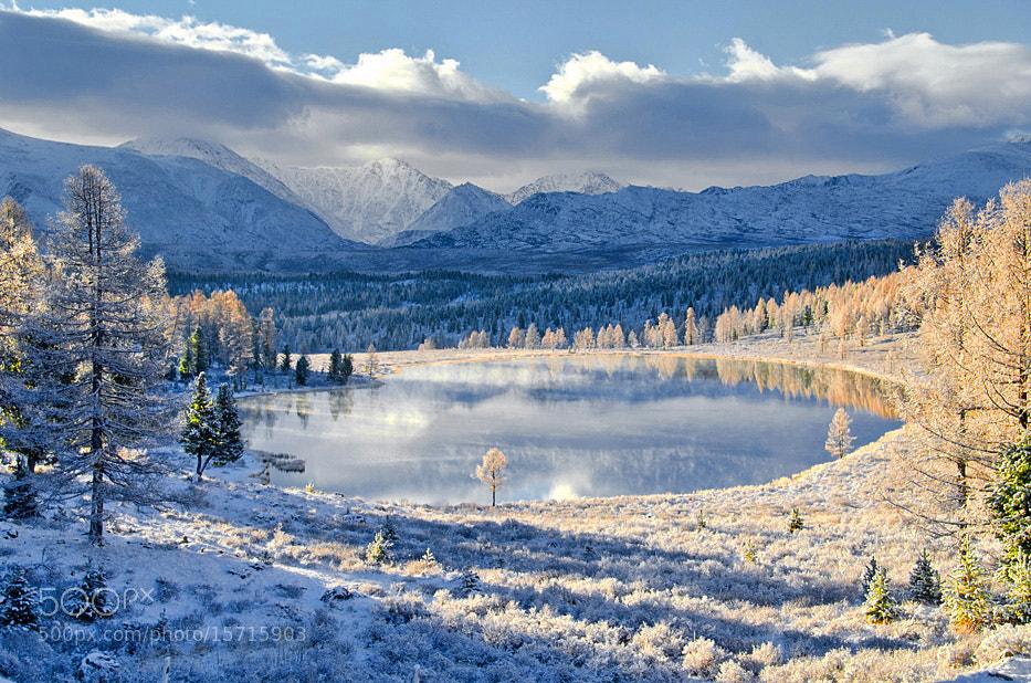 Photograph Lake Kedelyu after fresh snow. by Svetlana Shupenko on 500px