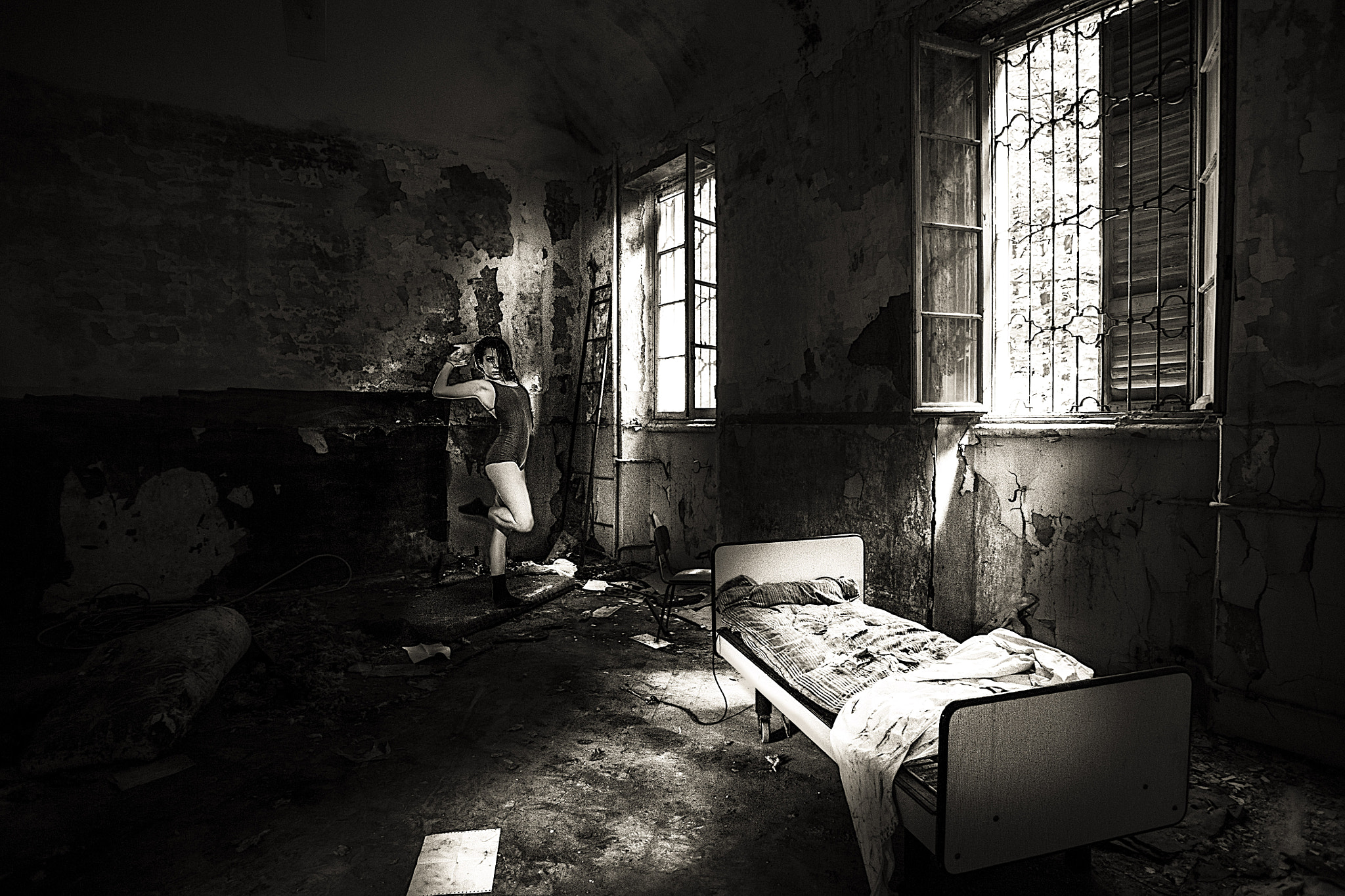 Photograph eva dance in the asylum by Marco Andreini on 500px