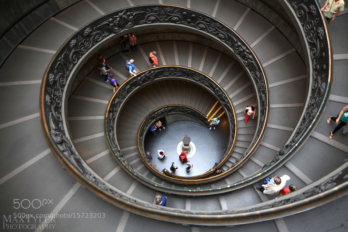 Photograph Vatikan Museum by Max Tyler on 500px