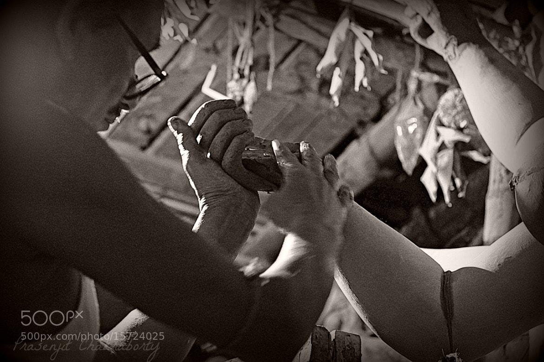 Photograph Handling the hand..  by Prasenjit Chakraborty on 500px