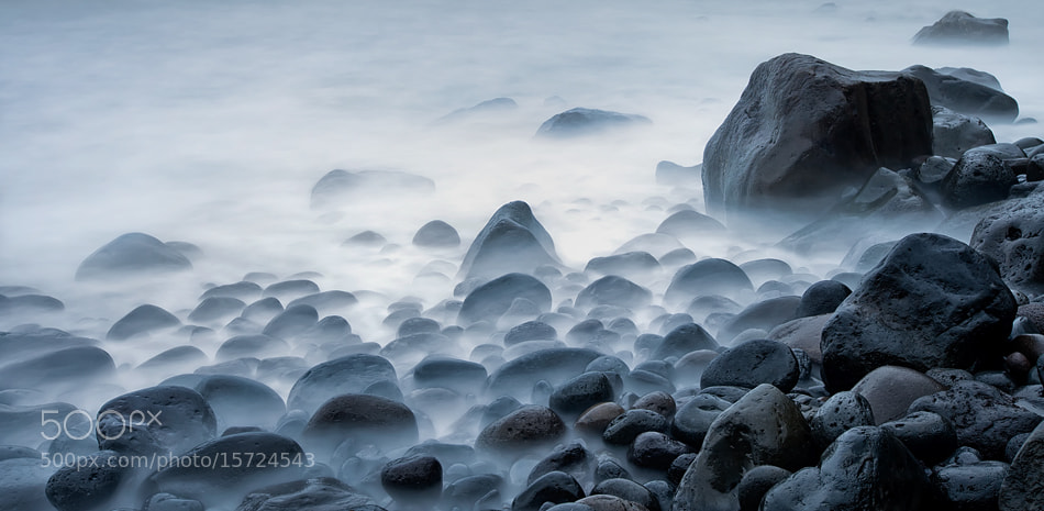Photograph Black Stones II by Jorge  Feteira on 500px