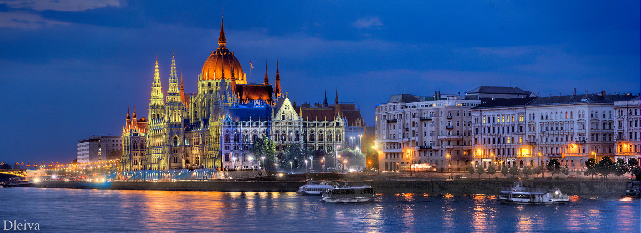Photograph Parliament of Budapest, Hungary by Domingo Leiva on 500px