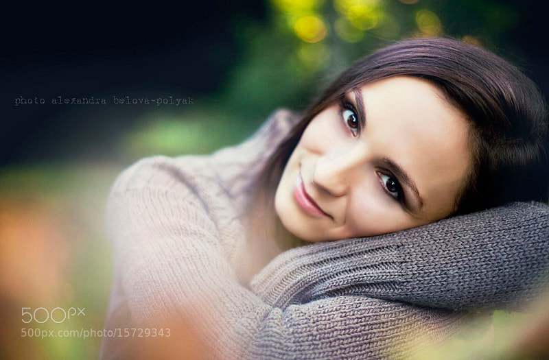 Photograph autumn girl by Alexandra Belova-Polyak on 500px