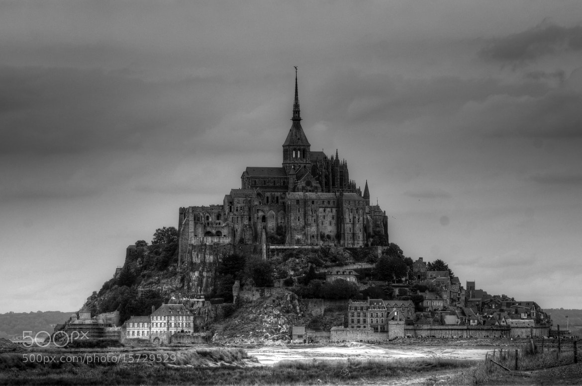 Photograph Medieval Mount - Mont Saint Michel by JJ Nugent on 500px