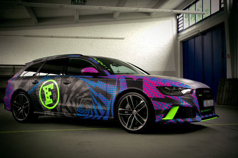 Audi RS6 wrapped by ph-oto & design on 500px.com