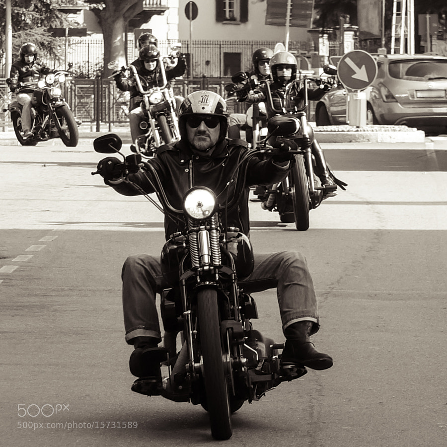 Photograph Motorcyclist rider by Giovanni Sottile on 500px
