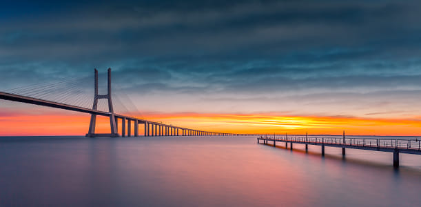 Sunrise Over the Bridge II by Klassy Goldberg on 500px